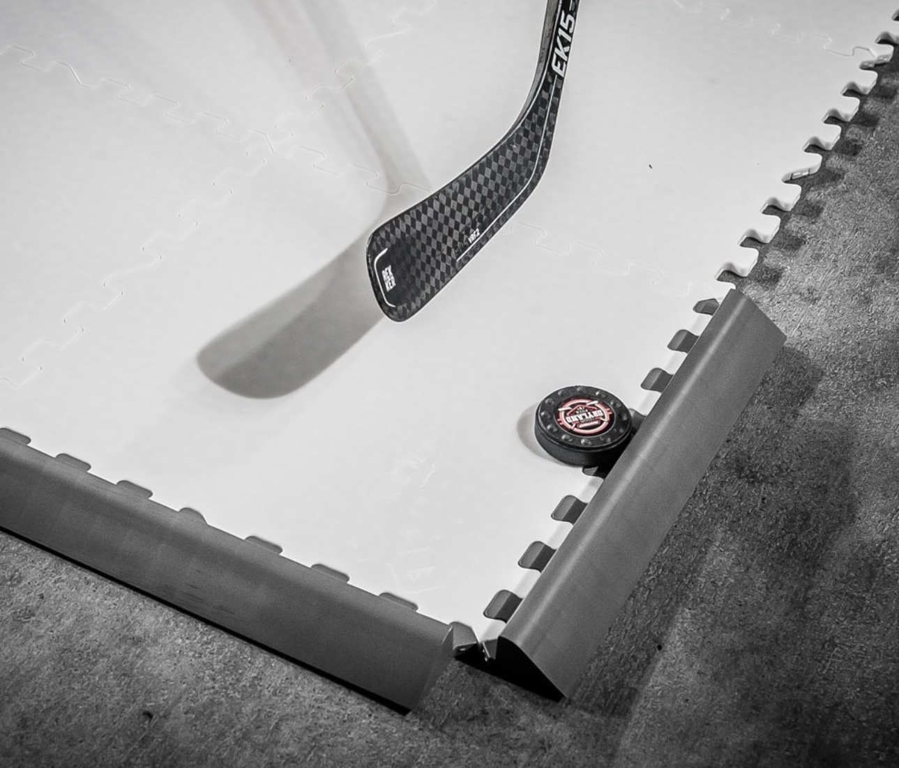 Hockeyshots puck slide stopper edge sold in packs of 5 hockey previous next dailygadgetfo Choice Image